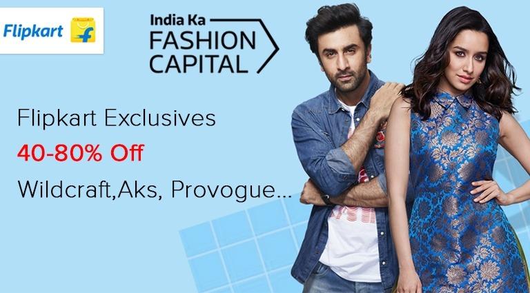 flipkart, best shopping site for mens clothing in india