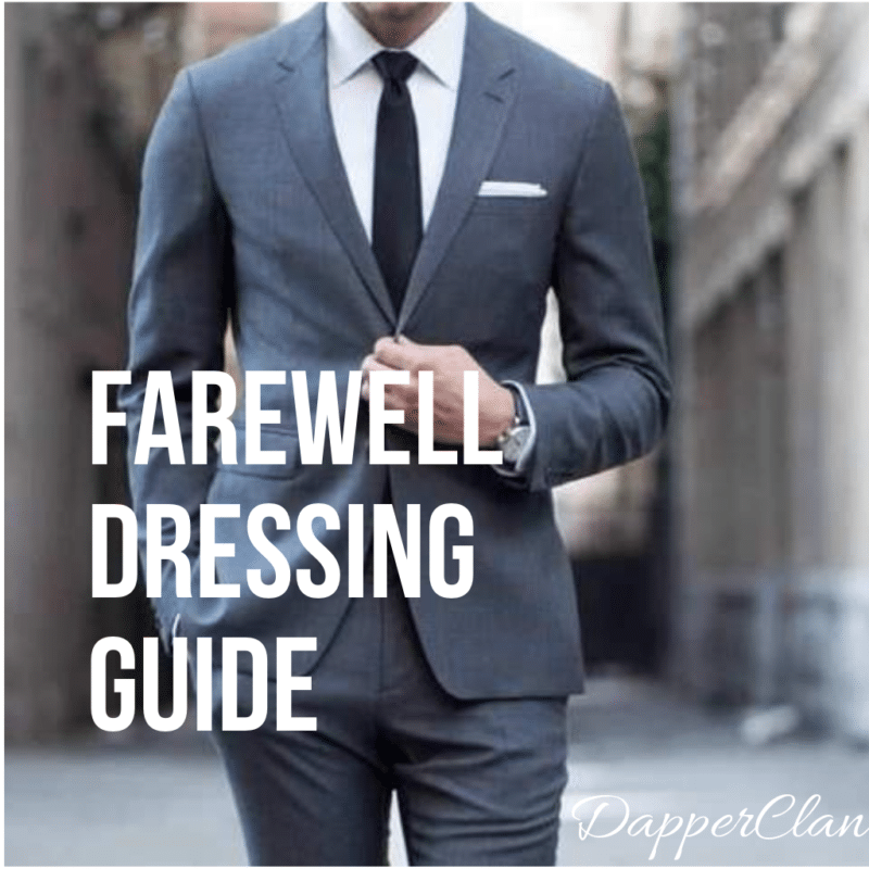85090a01dd20 How to dress for school farewell or college farewell | Dapper Clan