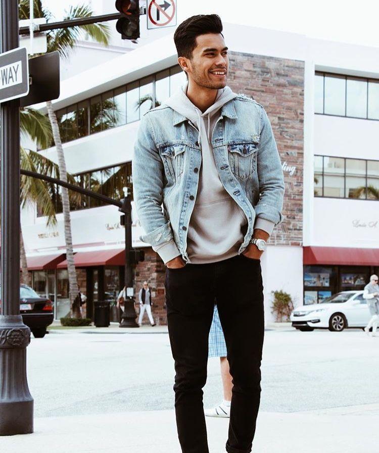 How To Wear A Denim Jacket Mens Fashion Dapper Clan