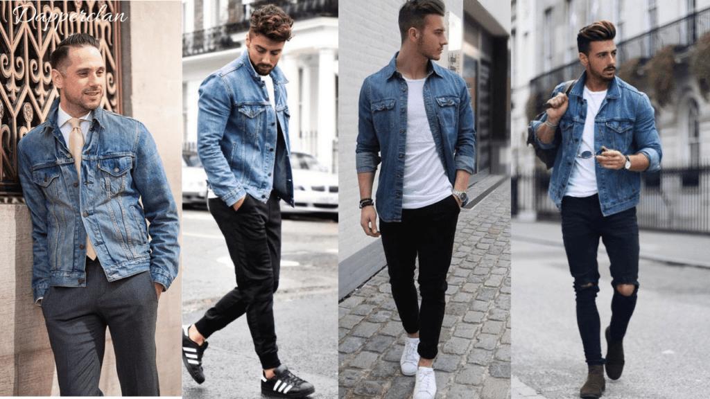 How To Wear A Denim Jacket Men S Fashion Dapper Clan