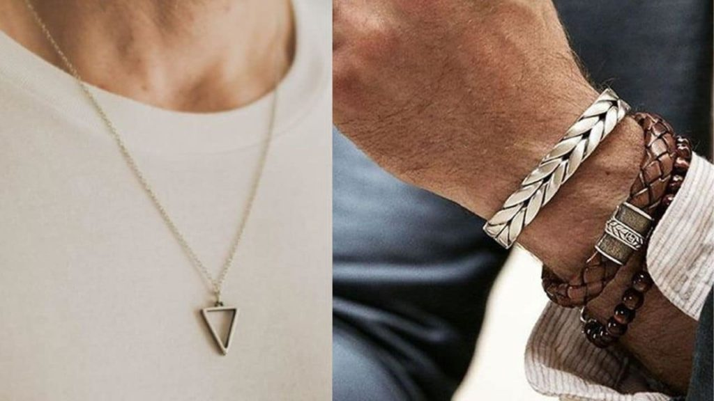 neckalace and braclets, summer style for men