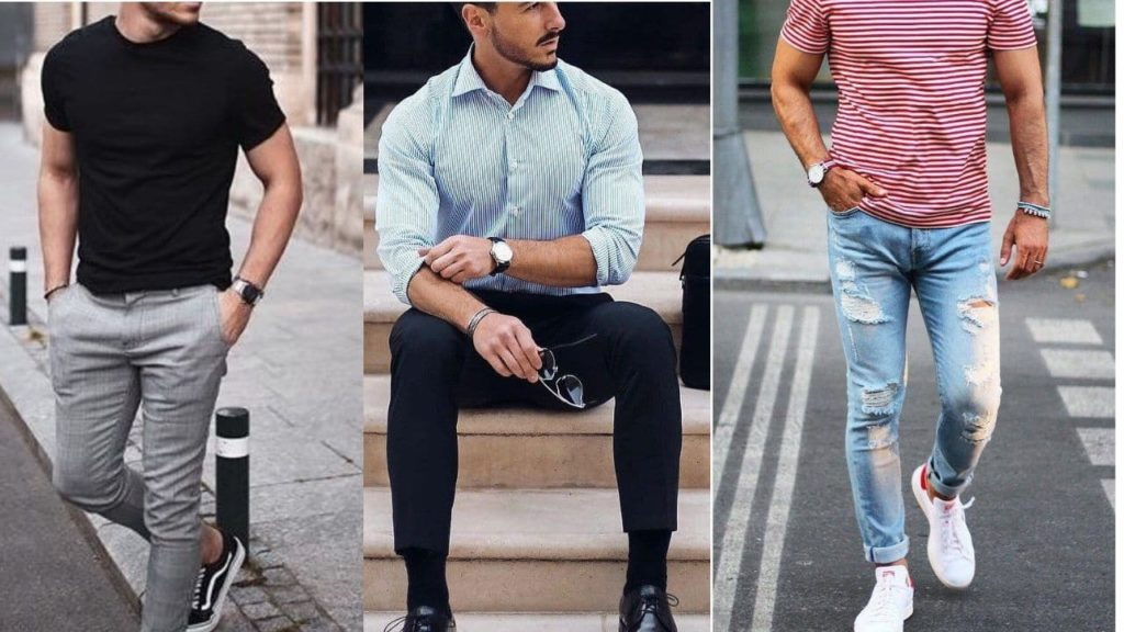 mens style for summer with watches