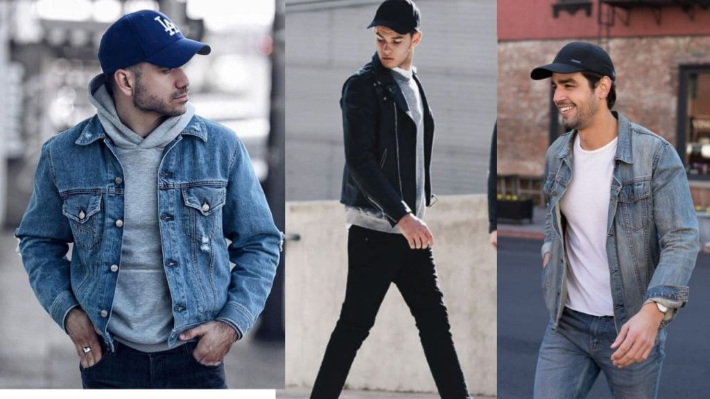 wear baseball caps , summer style for men