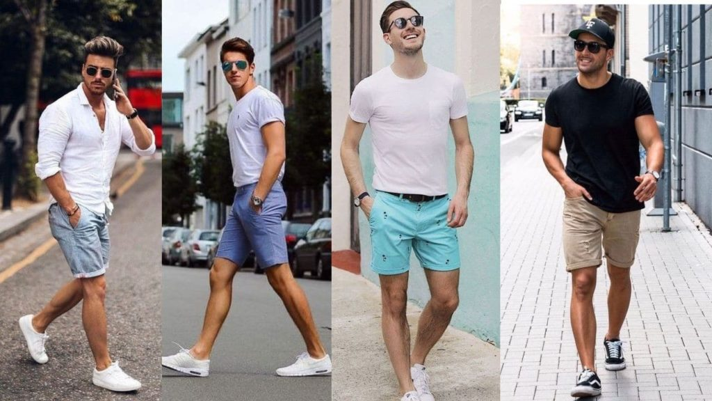 mens fashion for summer shorts are a must