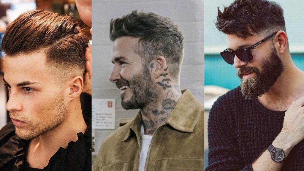 undercut for thin hair men, messy undercut, crew cut, david beckham hairstyle