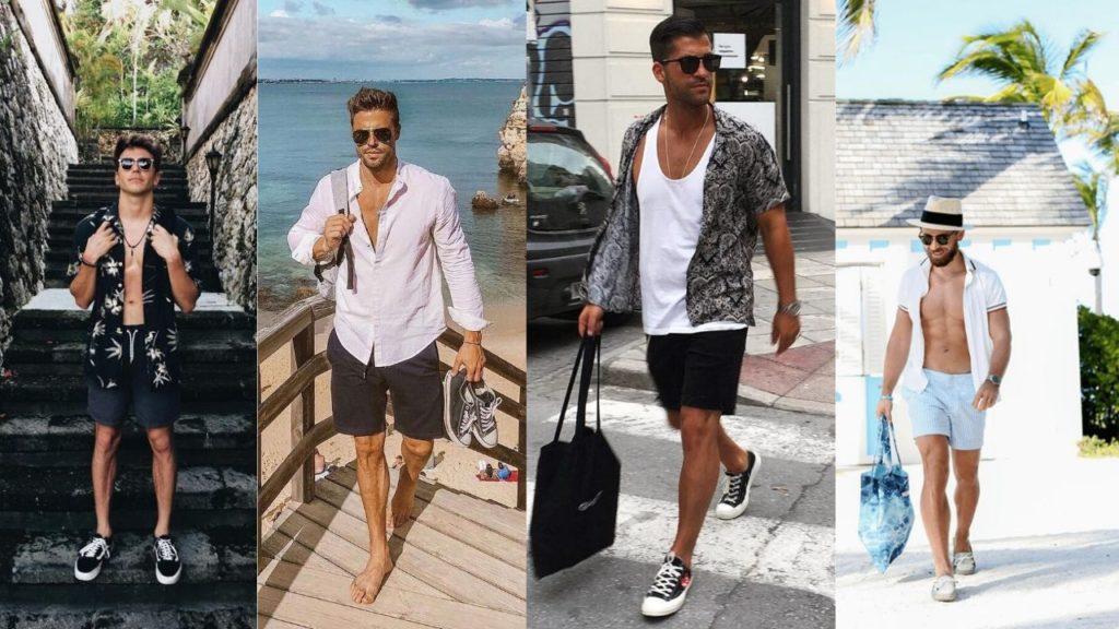 beach outfits men
