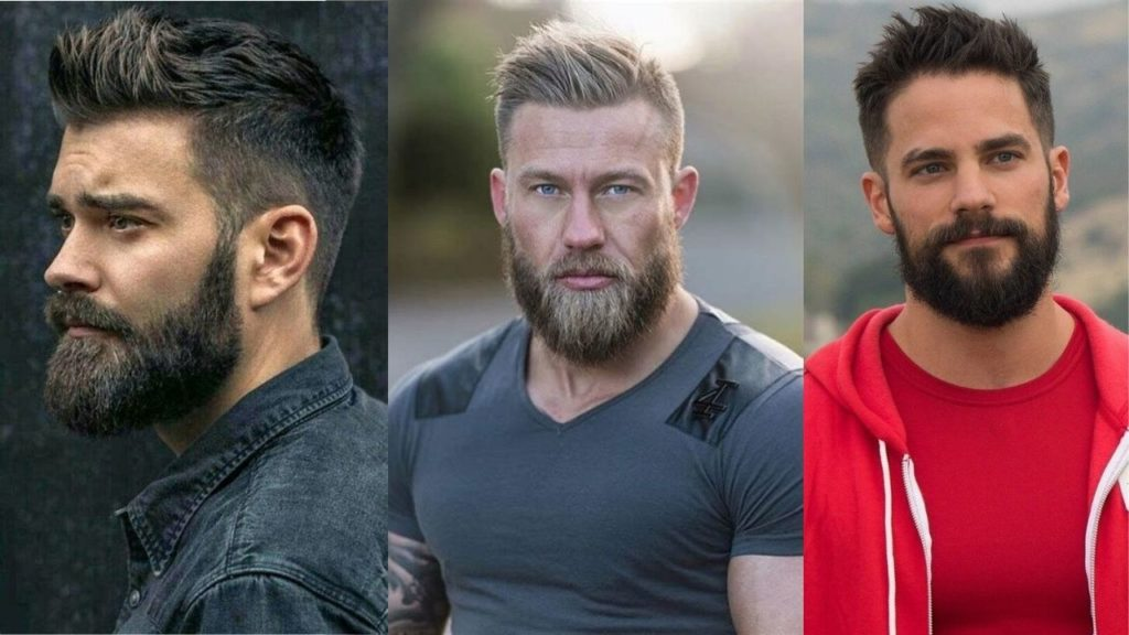 best hairstyle for men with round face