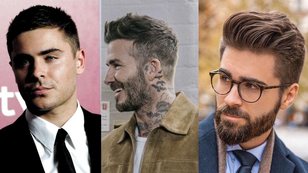 best hairstyles for men with round face