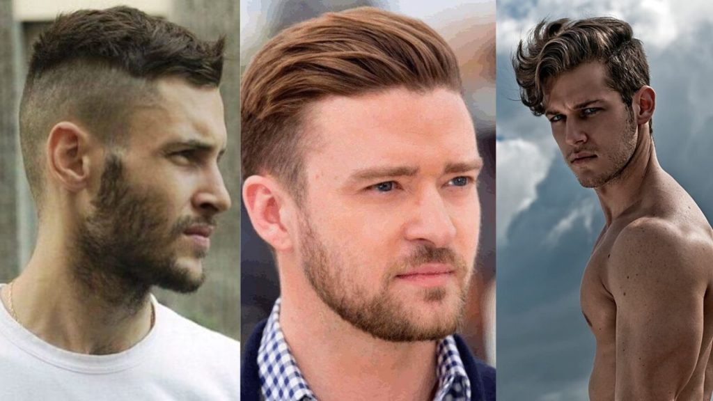 best haircut for men with round face