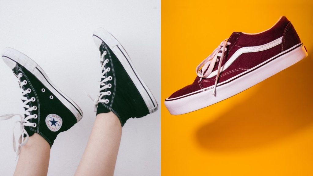 Converse, vans how to wear sneakers