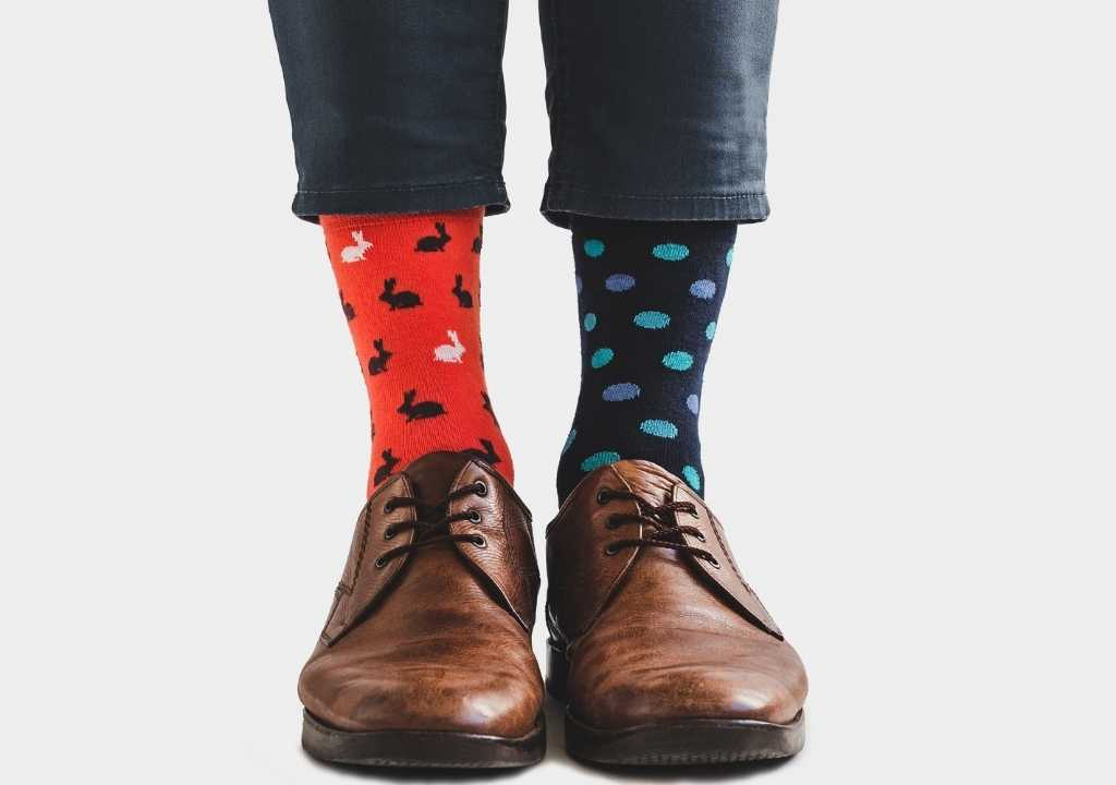 which color socks with jeans