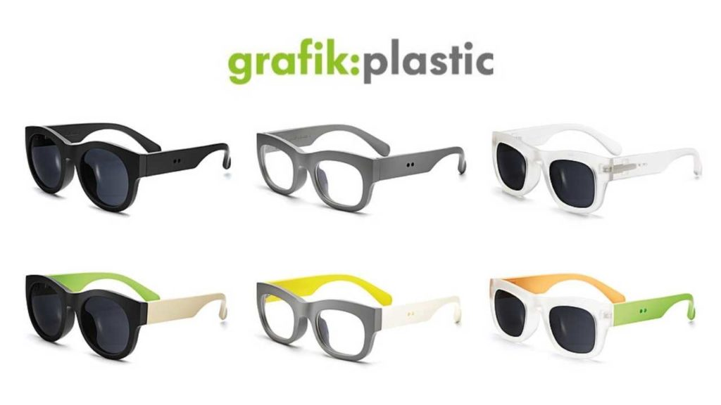 Grafik Plastic sunglasses