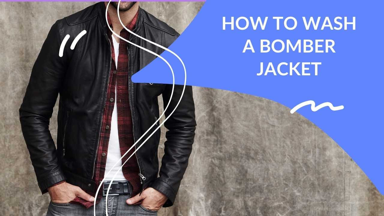 How to wash a bomber jacket