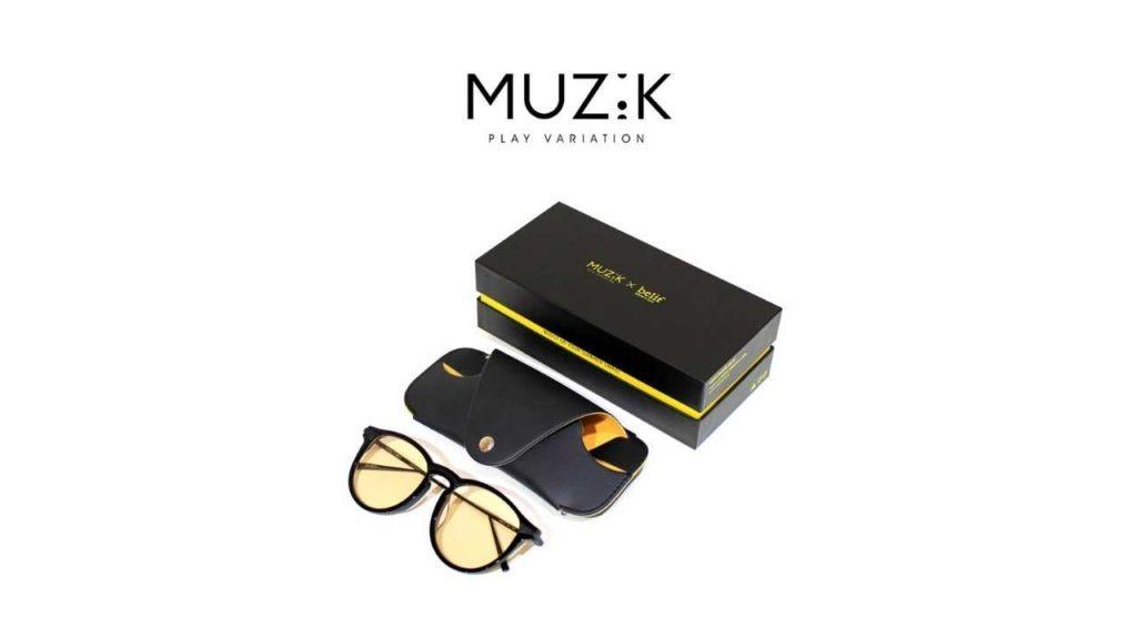 muzik sunglasses