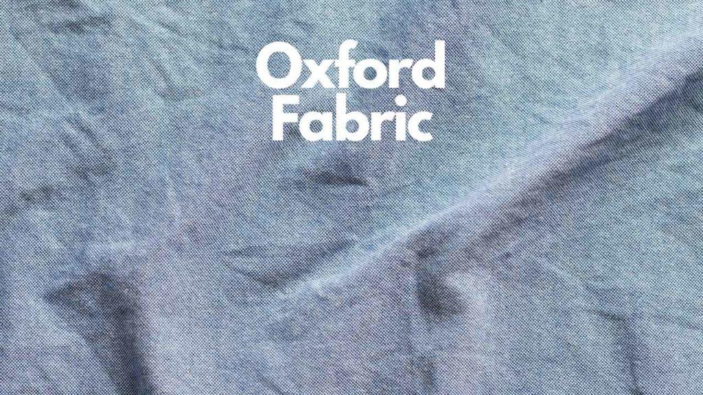 oxford shirt fabric material