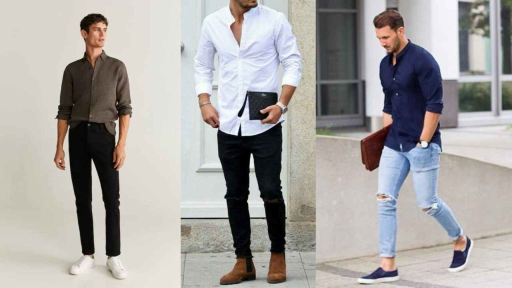 oxford shirt with a jeans outfit